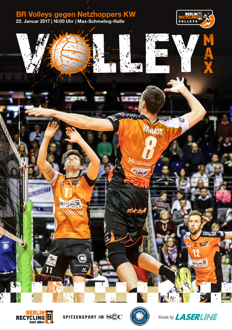 VolleyMax Netzhoppers-KW Titel WEB